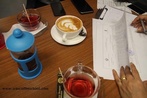 گزارش تصویری آزمون عملی سازمان فنی و حرفه ای هنرجویان خانه باریستا ایران(خانم ها - آقایان)