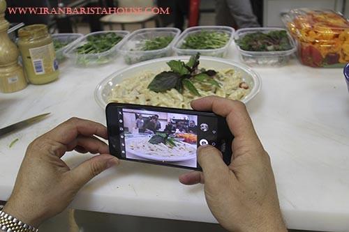 پاستا - گزارش تصویری از اولین دوره تخصصی سالاد و پاستا در خانه باریستا ایران - سالاد