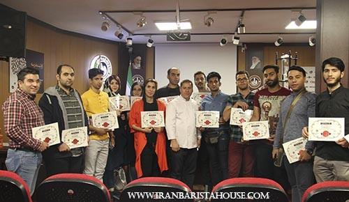 گزارش تصویری از دوره تخصصی پاستا و سالاد در خانه باریستا ایران