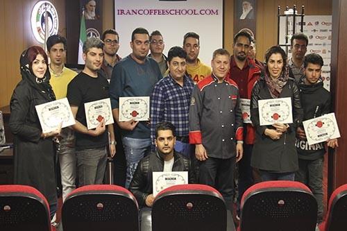 گزارش تصویری از دوره تخصصی پیتزاهای آمریکایی و ساندویچ در خانه باریستا ایران