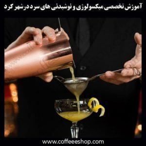 شهرکرد – آموزش حرفه ای میکسولوژی و نوشیدنی های سرد با مجوز فنی حرفه ای
