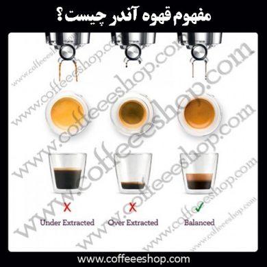 قهوه آندر به چه معنی است؟