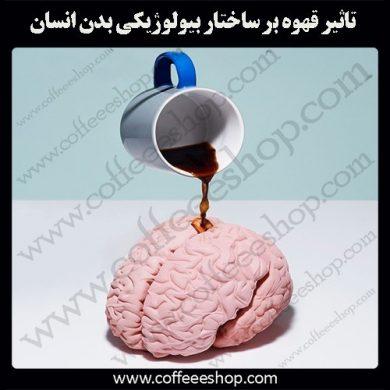 قهوه و ساختار بیولوژیکی بدن انسان
