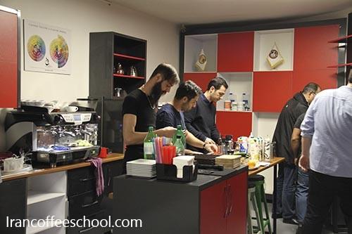 گزارش تصویری آزمون عملی سازمان فنی و حرفه ای هنرجویان خانه باریستا ایران (خانم ها – آقایان)