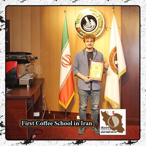 دوره خصوصی لاته آرت ( طراحی روی قهوه ) صالح اکرمی