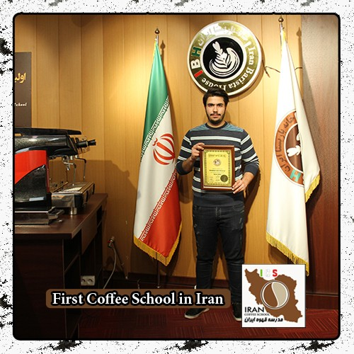 لاته آرت محمد ترحمی | مدرک بین المللی دوره طراحی روی قهوه - Latte Art