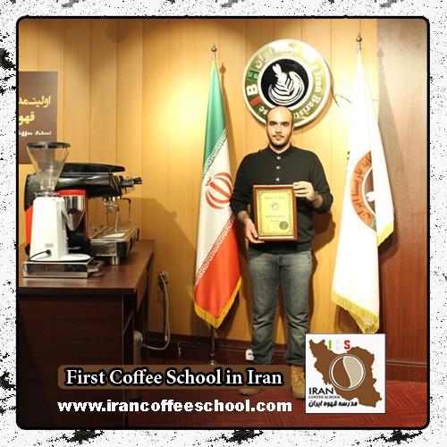 داریوش کامیار مدرک بین المللی لاته آرت | آموزش طراحی روی قهوه - لته آرت