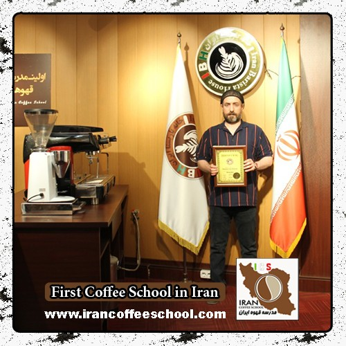 آزاد نگهدار مدرک بین المللی لاته آرت   آموزش طراحی روی قهوه - لته آرت