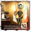 صالح بارانی مدرک بین المللی قهوه های دمی   آموزش تخصصی بروئینگ، نسل سوم قهوه
