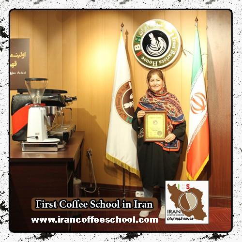 شمسی خورسی مدرک بین المللی لاته آرت   آموزش طراحی روی قهوه - لته آرت